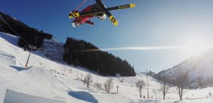 Snowparks made by the Shape Syndicate
